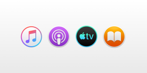 Music podcasts tv books mac 1